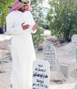 Berdoa di Kubur