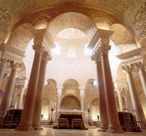 Gedung Santa Costanza di Roma Italia