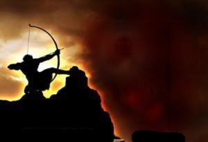 Ilustrasi Pemanah Islam