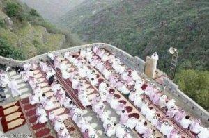Masjid untuk sholat Id di Saudi