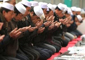 Muslim China berdoa jama'ah