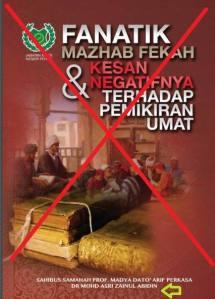 Buku Fanatik Madzhab buku yang menyesatkan