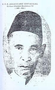 K. H. R. Ahmad Syar'i Mertakusuma