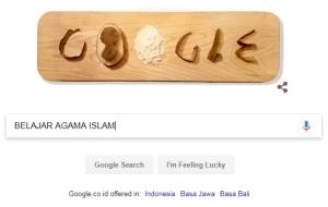 Belajar agama lewat google