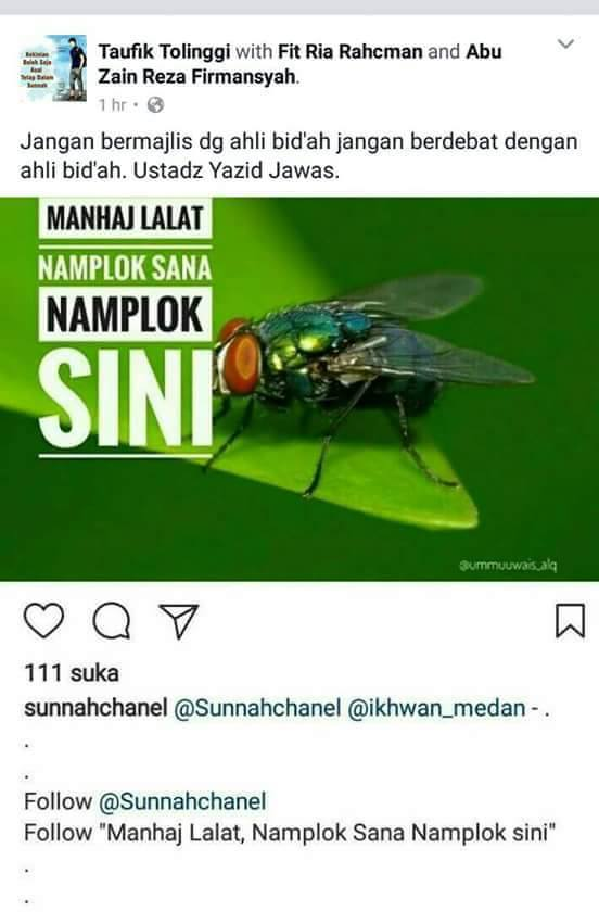 Salafy merasa paling benar