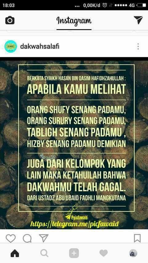yang benar hanya Salafy