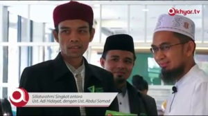 Ust Abdul Shomad & Ust. Adi Hidayat MA