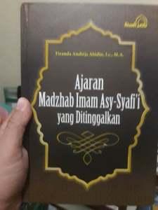 Ajaran Madzhab Syafi'i yang di tinggalkan